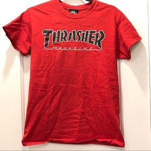 Authentic Red Thrasher Tee